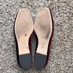 fc0e7200a41 Tory Burch Shoes - Tory Burch Acorn Charm Velvet Smoking Slipper 8.5